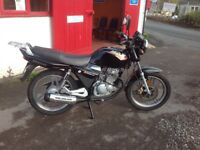 2009 SINNIS MAX 125 four stroke motorcycle