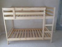 Ikea bunk bed and matresses