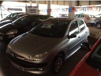 206 1.4CC FEVER 2004 04 PLATE 5 DOOR ECONOMICAL £795 MAY PX