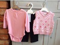 Baby Jo Jo Maman Bebe 6-12 Month Clothes Bundle