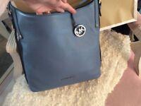 Michael Kors genuine NEW sky blue handbag with bag
