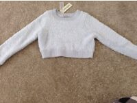 BNWT River Island Baby Blue Jumper - Age 3-4 Years