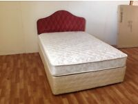 KINGSIZE 5 FT BED WITH ORTHO MATTRESS