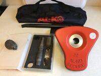 ALKO Al-ko Caravan Wheel Lock Kit No 22. Excellent used condition