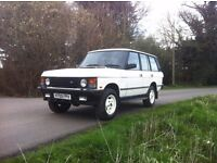 Range Rover classic 3.9v8i auto Stunning rare white, Little work needed and very solid