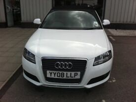 Audi A3 Convertible 2008 1.8T with Low mileage