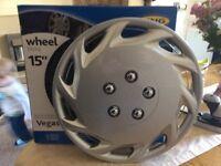 "15"" wheel trims."