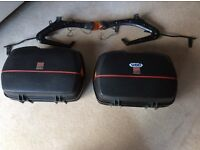 Givi motorcycle side panniers