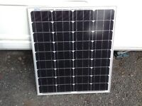 80 WATT MONOCRYSTALLINE SOLAR PANEL