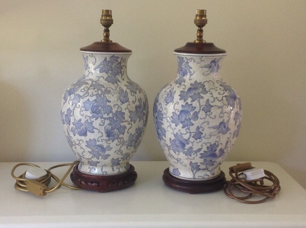 Hand painted Quality Ceramic lamp bases