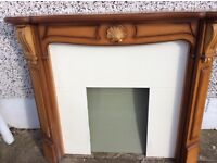 Classical style fire surround.