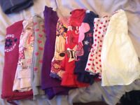 Girls tops and Jumpers aged 3-4yrs