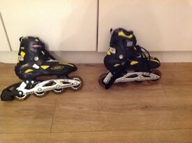 Roces inline rollerblades size 5