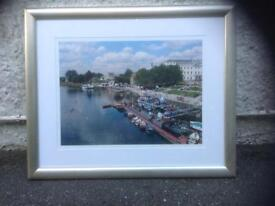 Framed & glazed picture of River Thames at Richmond