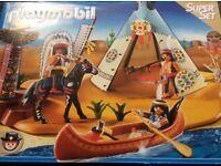 Playmobil 4012 Superset - Western Native American Camp