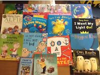 Selection of 15 kids books