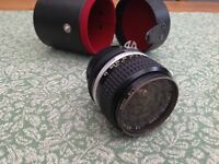 Nikon 24mm lens for sale.