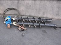New Post Hole Auger Drive for .75 to 2ton Digger