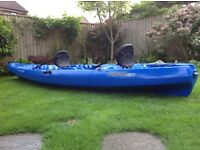 Wilderness Kayak Tarpon 130 Tandem Blue