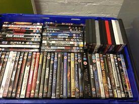 DVDs large job lot of over 80 DVDs