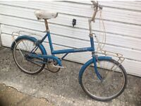 Vintage Raleigh 20 Shopper 3 Speed ( in need of a little work )