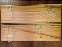 Classic Habitat wooden Venetian blinds