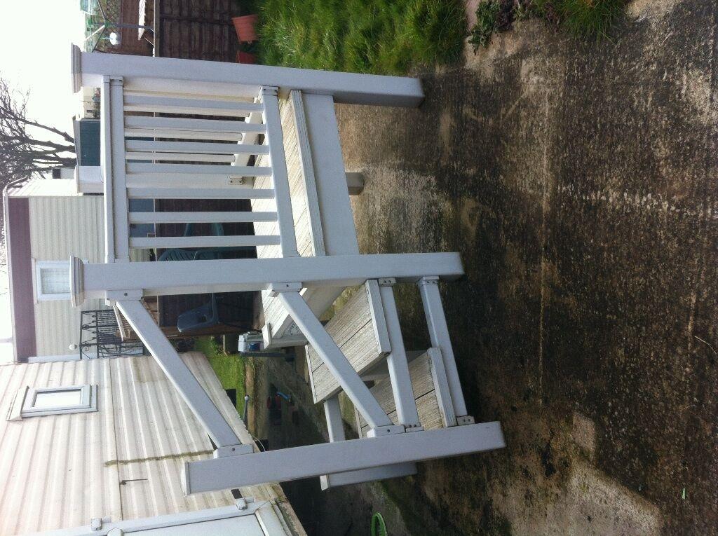 Sunny decks steps for sale in skegness lincolnshire for Garden decking gumtree