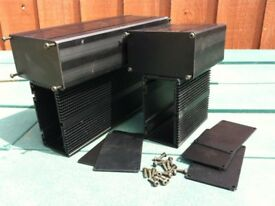 Heat Sink Box anodised black - for sale form £ 17