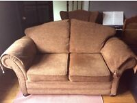 2 seater parkernoll style and matching armchair
