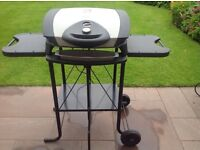 George Foreman Electric BBQ Grill with Foldable stand
