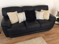 Three and two setter sofas