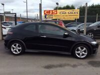 Honda Civic type S 2010 one owner 50000 fsh ful year mot mint car fully serviced possible px