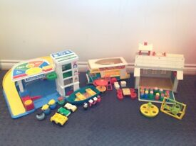 Fisher Price Vintage Toy Bundle