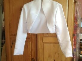 Beautiful Satin Bolero Jacket