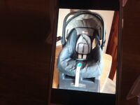 Baby car seat & stand