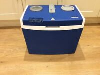 Electric Cool Box 35 litres - powered by car 12V supply. Virtually unused.