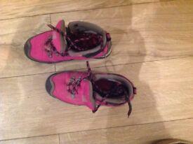 Girl's Karimoor walking boots size 4