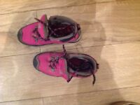 Girl's Karimoor walking boots size 4