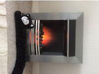 ELECTRIC WALL FIRE COAL EFFECT