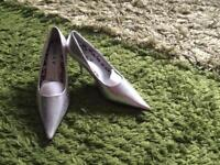 Lovely silver shoes