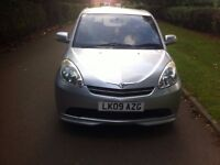 Perodua Myvi 2009 Manual 5 Doors Hatchback, 1 Year MOT, 1.3 Engine, Silver Color, 76000 Mileage