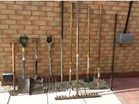 Job lot of garden tools for sale £65
