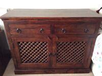 John Lewis Maharani Solid Sheesham wood 2 door sideboard