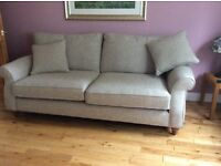 Immaculate next ashford sofa