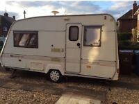 Retro refurbished Bailey Pageant 2 berth caravan with motor mover, a lovely, cosy ,vintage van