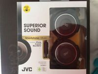 Brand new JVC headphones