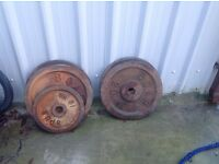 OLYMPIC BAR 130KG LOTS WEIGHT PLATES EZ BAR TEL 07466876900