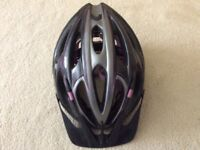 Bike helmets, adult and child, great condition