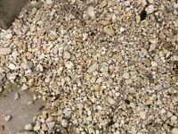 Aggregate, gravel, stones