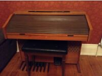 Gem Electric organ and stool